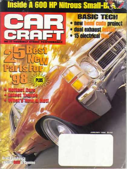 Car Craft - January 1998