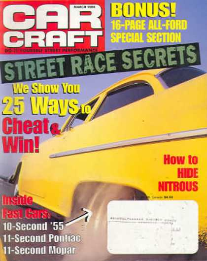 Car Craft - March 1998