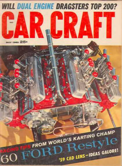 Car Craft - May 1960