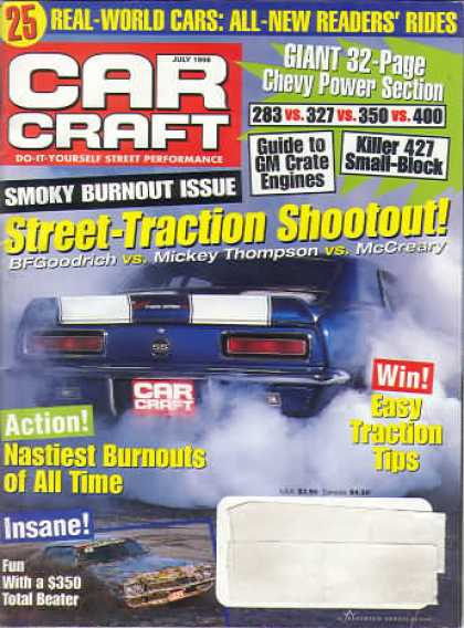 Car Craft - July 1998