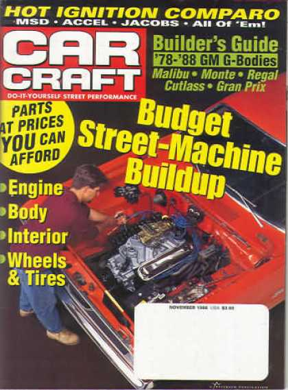 Car Craft - November 1998