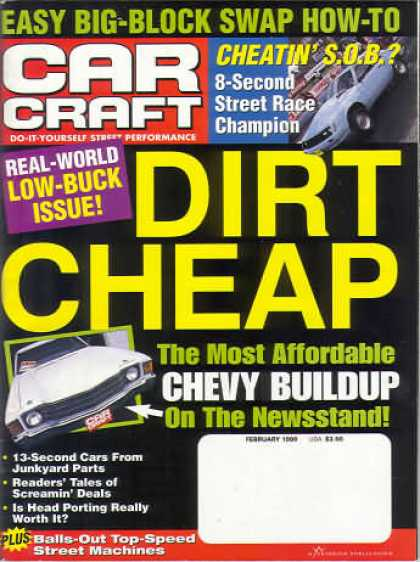 Car Craft - February 1999
