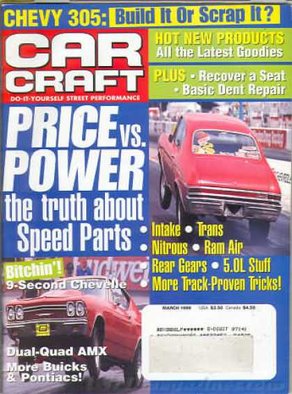 Car Craft - March 1999