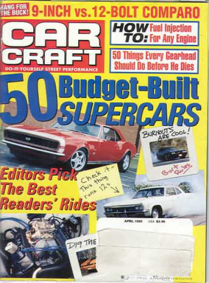 Car Craft - April 1999