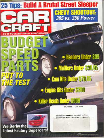 Car Craft - July 1999