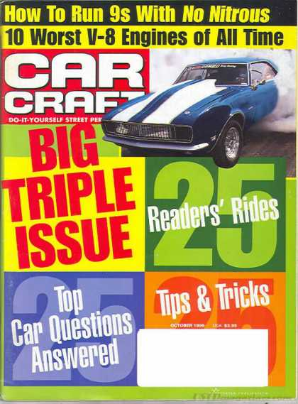 Car Craft - October 1999