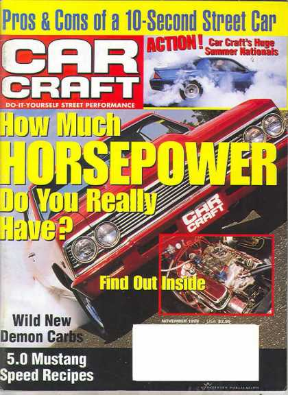 Car Craft - November 1999