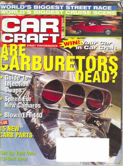 Car Craft - January 2000