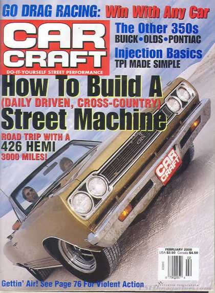 Car Craft - February 2000