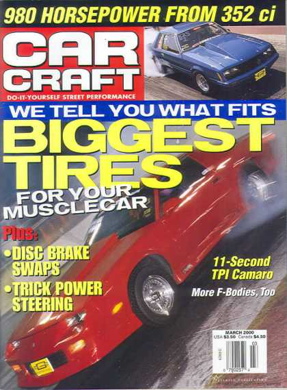 Car Craft - March 2000