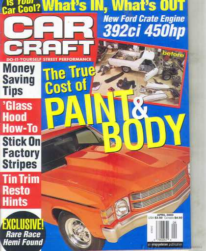 Car Craft - April 2000
