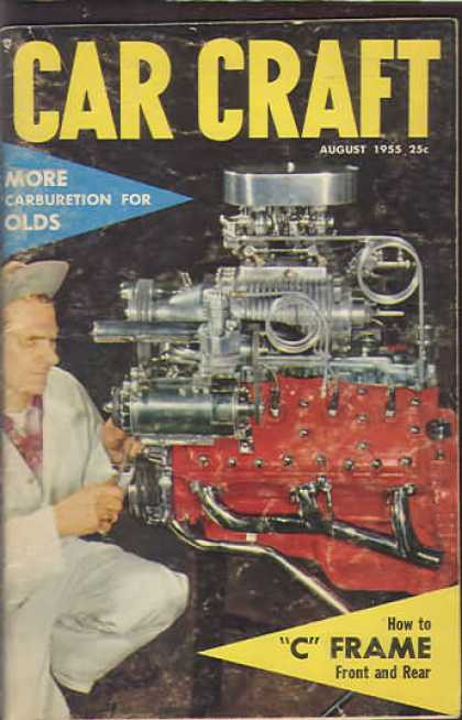 Car Craft - August 1955