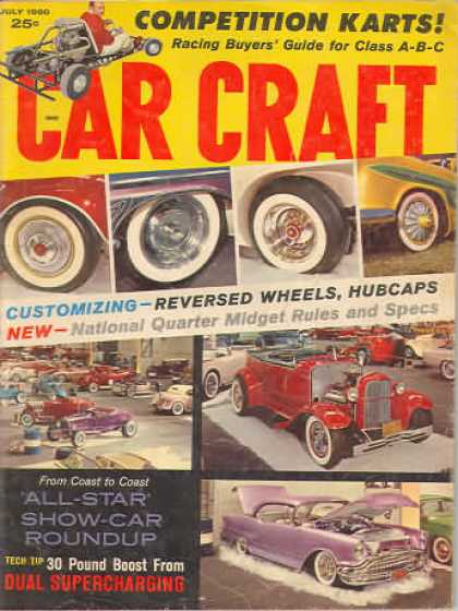 Car Craft - July 1960