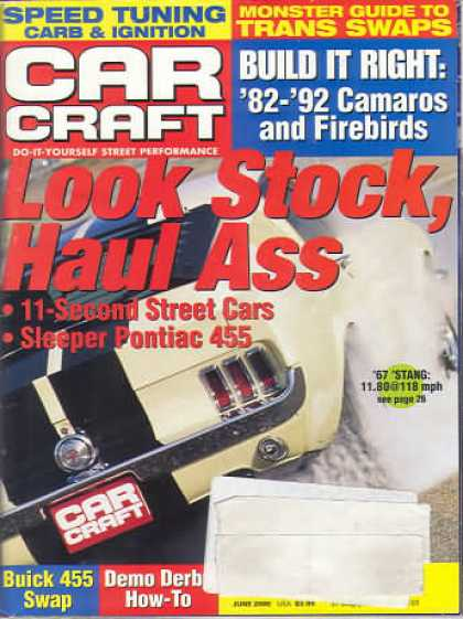 Car Craft - June 2000