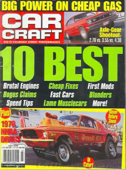 Car Craft - July 2000