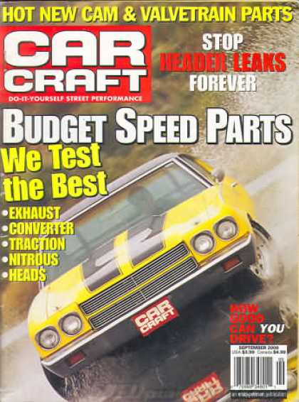 Car Craft - September 2000