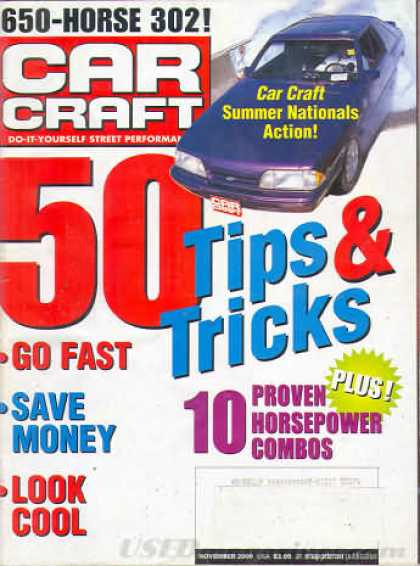 Car Craft - November 2000