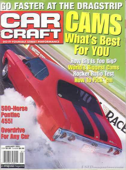 Car Craft - January 2001