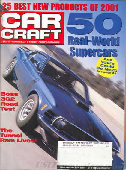 Car Craft - February 2001
