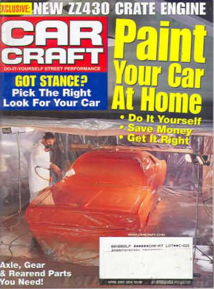 Car Craft - April 2001