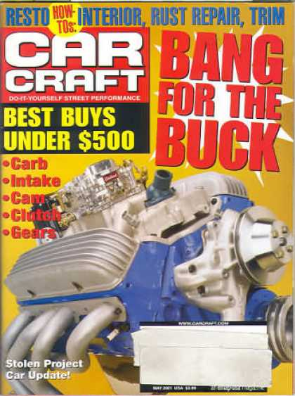 Car Craft - May 2001