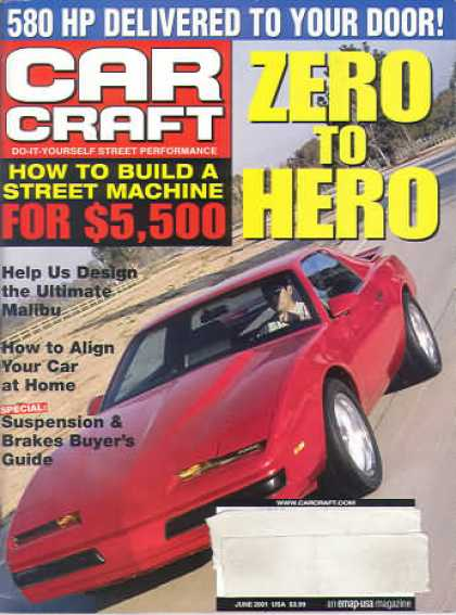 Car Craft - June 2001