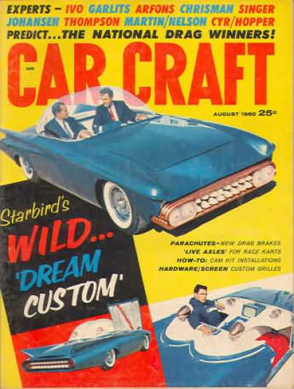 Car Craft - August 1960
