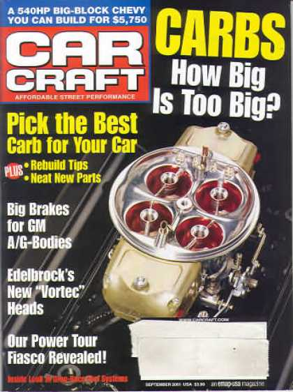 Car Craft - September 2001
