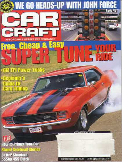 Car Craft - October 2001