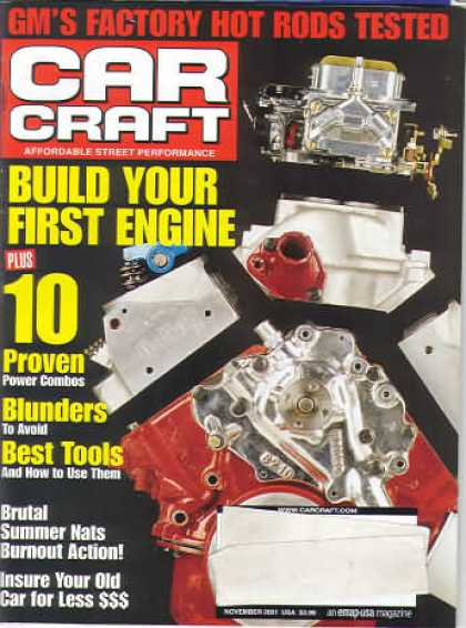 Car Craft - November 2001