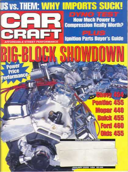 Car Craft - January 2002