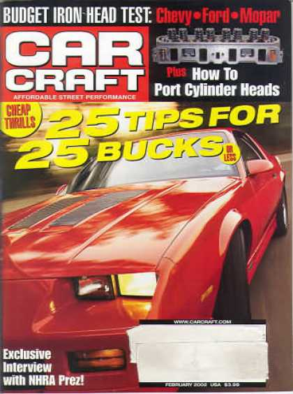 Car Craft - February 2002