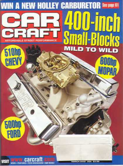 Car Craft - March 2002