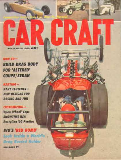 Car Craft - September 1960