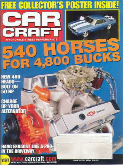 Car Craft - June 2002