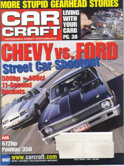 Car Craft - July 2002