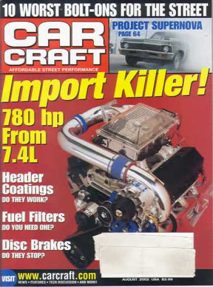 Car Craft - August 2002