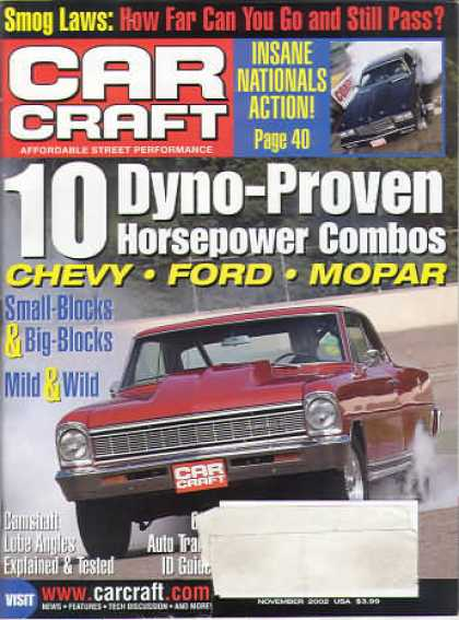 Car Craft - November 2002