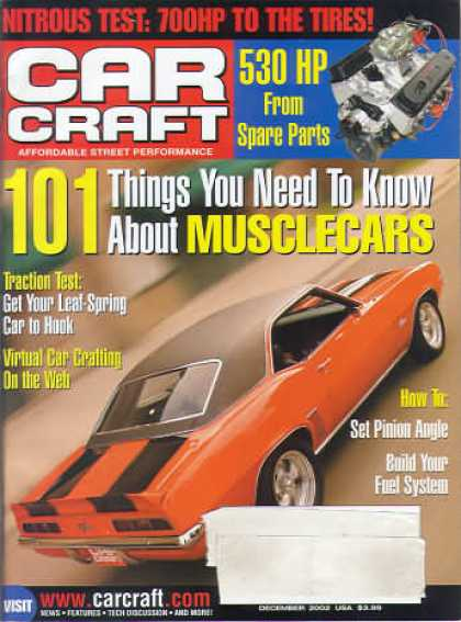 Car Craft - December 2002