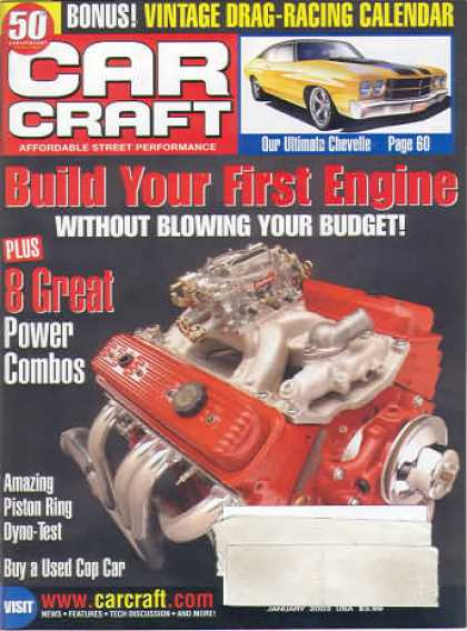Car Craft - January 2003