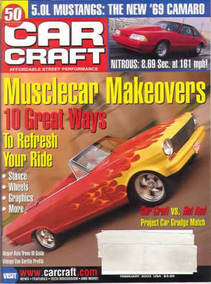 Car Craft - February 2003
