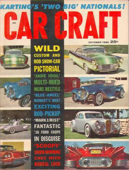 Car Craft - October 1960