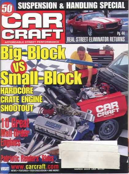 Car Craft - March 2003