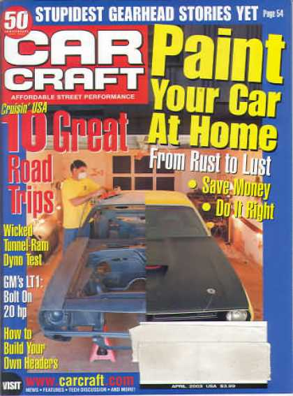 Car Craft - April 2003