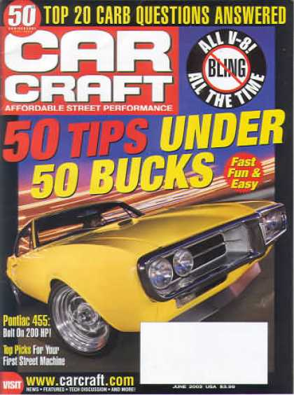Car Craft - June 2003