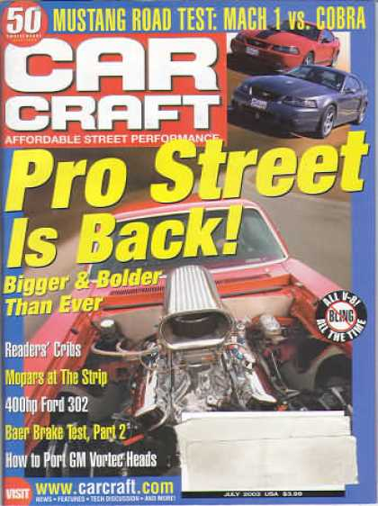 Car Craft - July 2003