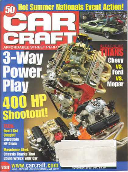 Car Craft - November 2003