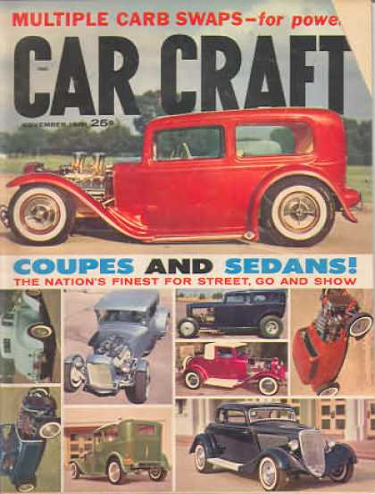 Car Craft - November 1960