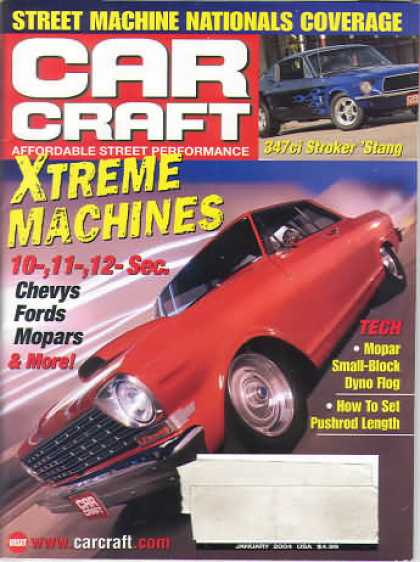 Car Craft - January 2004