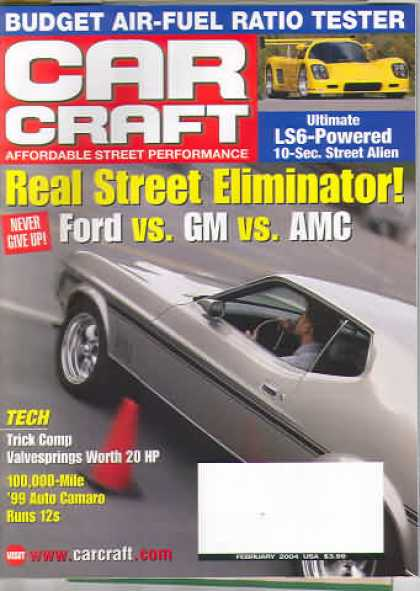 Car Craft - February 2004